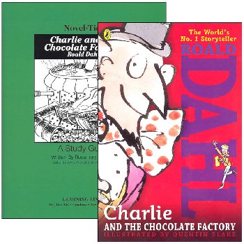 Charlie and the Chocolate Factory Novel-Ties Study Guide & Book Set