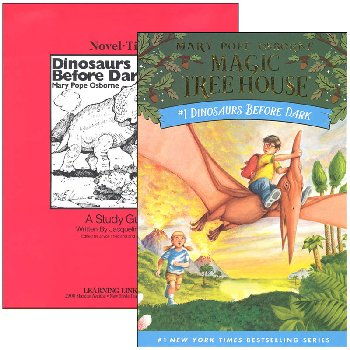 Dinosaurs Before Dark (Magic Tree House) Novel-Ties Study Guide & Book Set