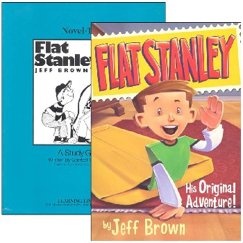 Flat Stanley Novel-Ties Study Guide & Book Set