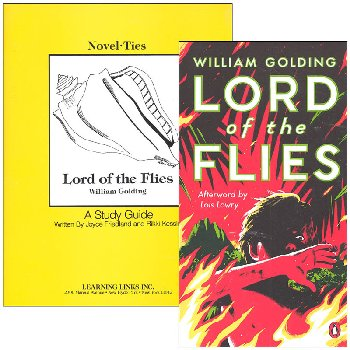 Lord of the Flies Novel-Ties Study Guide & Book Set