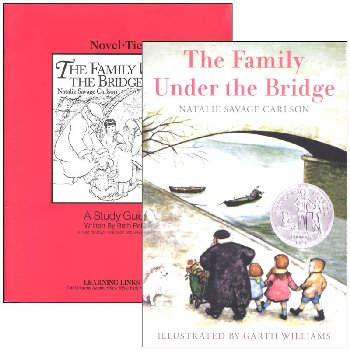 Family Under the Bridge Novel-Ties Study Guide & Book Set