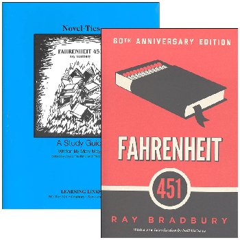 Fahrenheit 451 Novel-Ties Study Guide & Book Set
