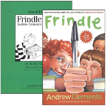 Frindle Novel-Ties Study Guide & Book Set