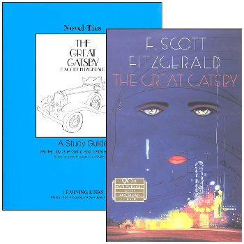 Great Gatsby Novel-Ties Study Guide & Book Set