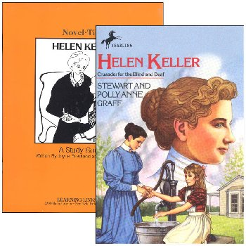 Helen Keller Novel-Ties Study Guide & Book Set