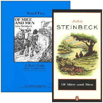 Of Mice and Men Novel-Ties Study Guide & Book Set