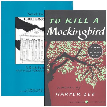 To Kill a Mockingbird Novel-Ties Study Guide & Book Set