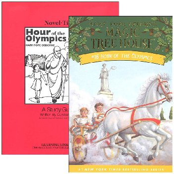 Hour of the Olympics (Magic Tree House) Novel-Ties Study Guide & Book Set