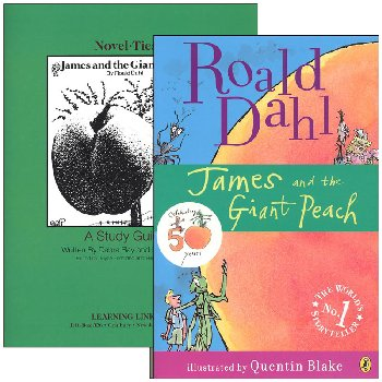 James and the Giant Peach Novel-Ties Study Guide & Book Set
