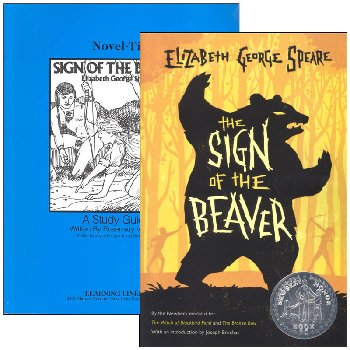 Sign of the Beaver Novel-Ties Study Guide & Book Set