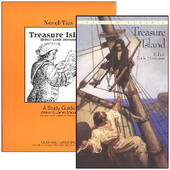 Treasure Island Novel-Ties Study Guide & Book Set