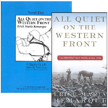 All Quiet on the Western Front Novel-Ties Study Guide & Book Set