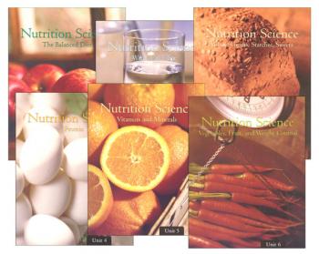 Nutrition Science Workbook Set