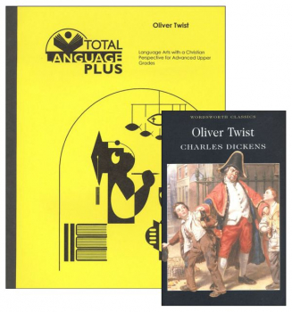 Oliver Twist Total Language Plus Guide & Book