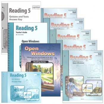 Open Windows Reading 5 Complete Set Sunrise 2nd Edition