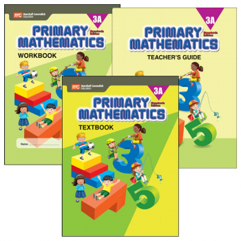 Primary Math Standards Edition 3A Bundle