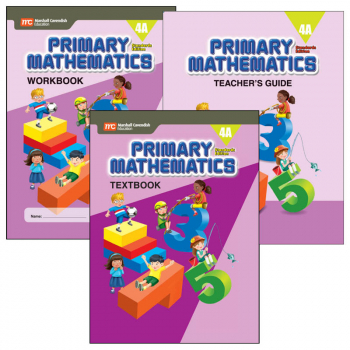 Primary Math Standards Edition 4A Bundle