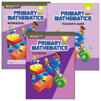 Primary Math Standards Edition 4B Bundle