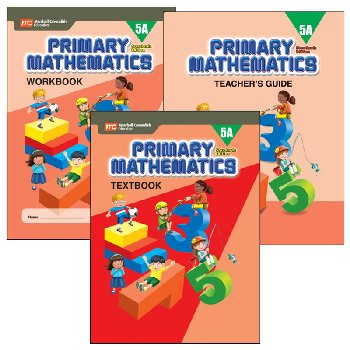 Primary Math Standards Edition 5A Bundle