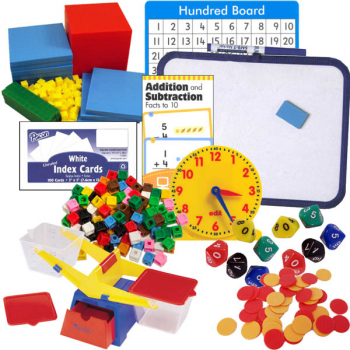 Primary Math US Level 1 Manipulatives Package