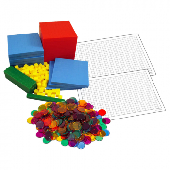 Primary Math US Level 6 Manipulatives Package