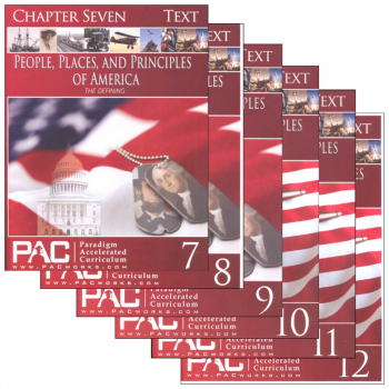 People, Places & Principles America Text Package Year 2 (Chapters 7-12)