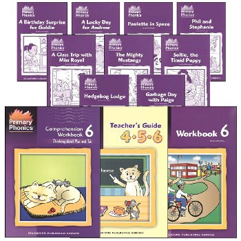 Primary Phonics 6 Complete Package