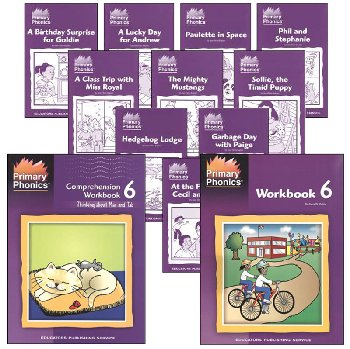 Primary Phonics 6 Student Package