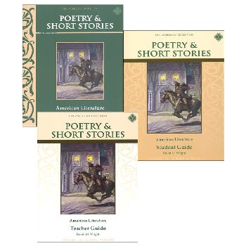 Poetry & Short Stories: American Literature Set