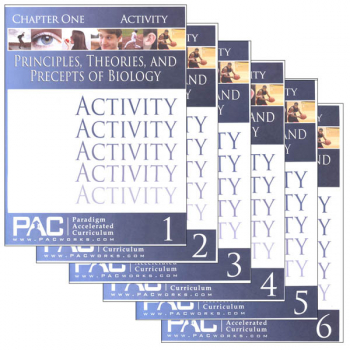 Principles, Theories & Precepts of Biology Activities Package (Chapters 1-6)