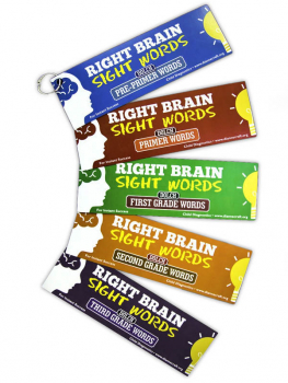 Right Brain Dolch 220 Sight Words Package