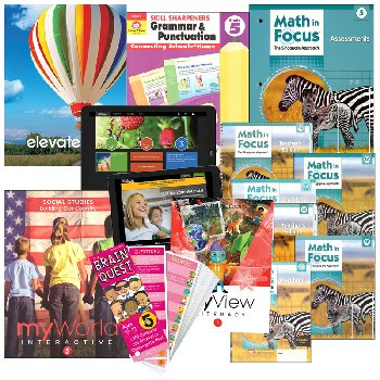 Rainbow Curriculum Starter Package Standards Based Grade 5
