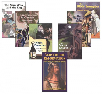 Renaissance and Reformation Biography Package (6 Louise A Vernon Books, Artist of the Reformation)