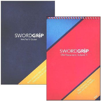 SwordGrip Flipbook - Genesis to Psalms with Teacher Guide - ESV