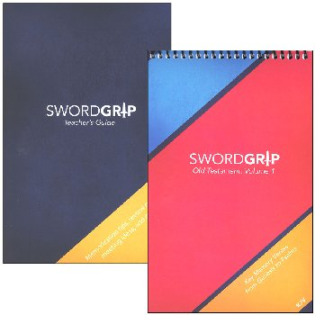 SwordGrip Flipbook - Genesis to Psalms with Teacher Guide - KJV
