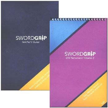SwordGrip Flipbook - Proverbs to Malachi with Teacher Guide - KJV