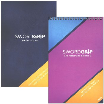 SwordGrip Flipbook - Proverbs to Malachi with Teacher Guide - NKJV