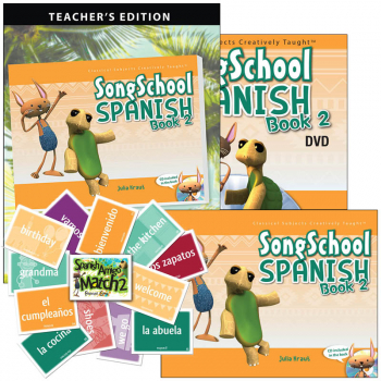 Song School Spanish 2 Deluxe Package