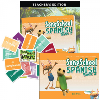 Song School Spanish 2 Package