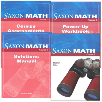 Saxon Math Course 2 Homeschool Kit