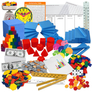 Saxon Math Intermediate 3 Manipulative Kit