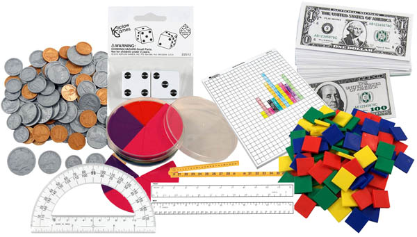 Saxon Math Intermediate 5 Manipulative Kit