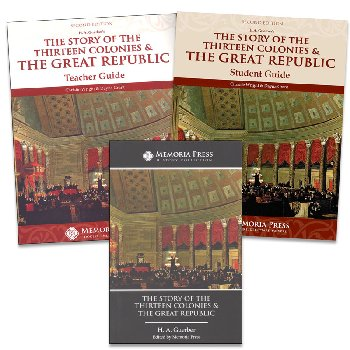 Story of the Thirteen Colonies & the Great Republic Set