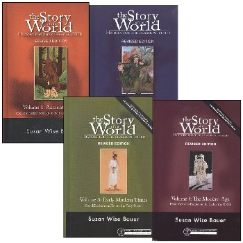 Story of the World Volume 1-4 Set (hardcover)