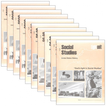 Social Studies 1101-1110 LightUnit Set