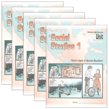 Social Studies 101-105 LightUnit Set Sunrise Edition