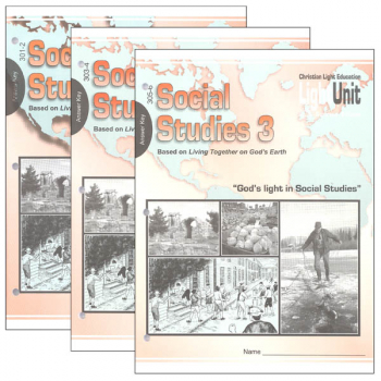 Social Studies 301-306 LightUnit Answer Key Set Sunrise Edition