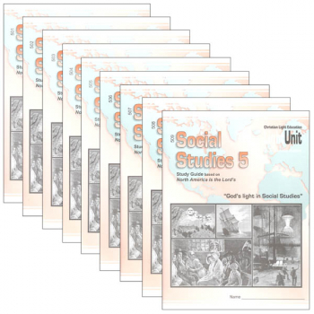 Social Studies 501-509 LightUnit Set Sunrise Edition