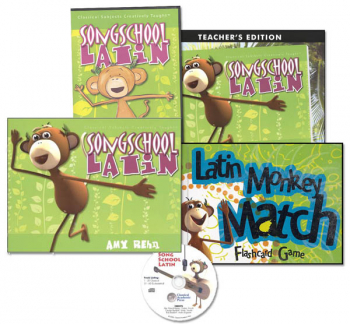 Song School Latin Book 1 Package with DVD