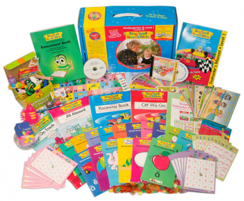 Sing, Spell, Read & Write Kindergarten and Level 1 Combo Kit with FREE Incentive Bag Homeschool Edition